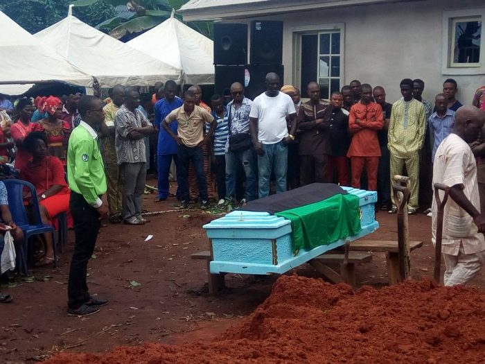 3 79 700x525 - IPOB Member Killed During Military Invasion In Abia Finally Laid To Rest (Graphic Photos)