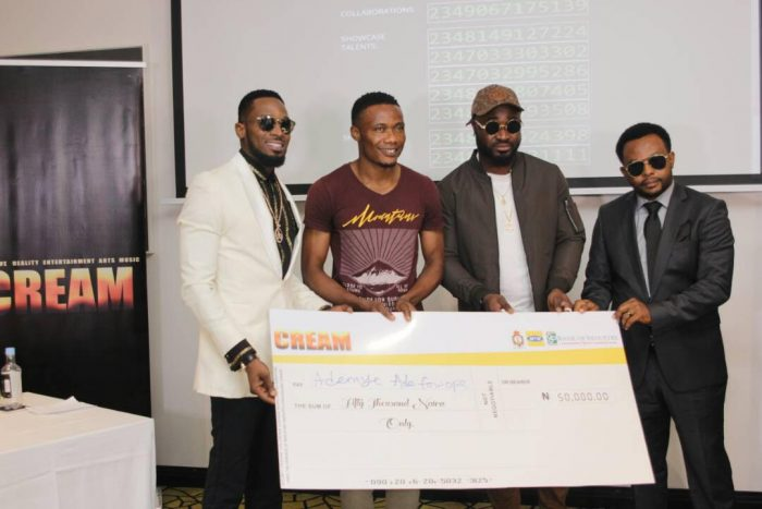 CREAM1 700x467 - D'banj Gives Out Million In Naira To Winners As Cream Platform Celebrates 1 Year Anniversary (See Photos)
