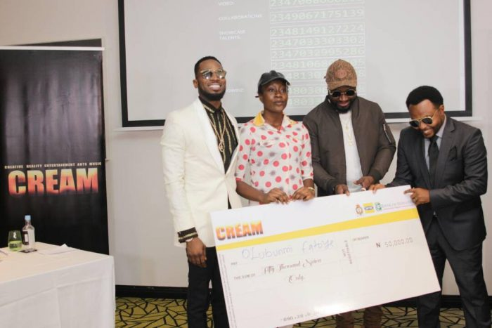 CREAM2 700x467 - D'banj Gives Out Million In Naira To Winners As Cream Platform Celebrates 1 Year Anniversary (See Photos)