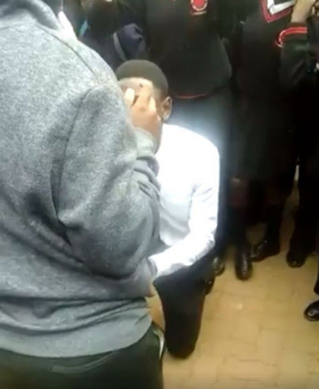 Mduduzi Tlou1 - Wonders Shall Never End!! See 18-Year-Old Boy Suspended After Proposing To His Teen Girlfriend In School In SA