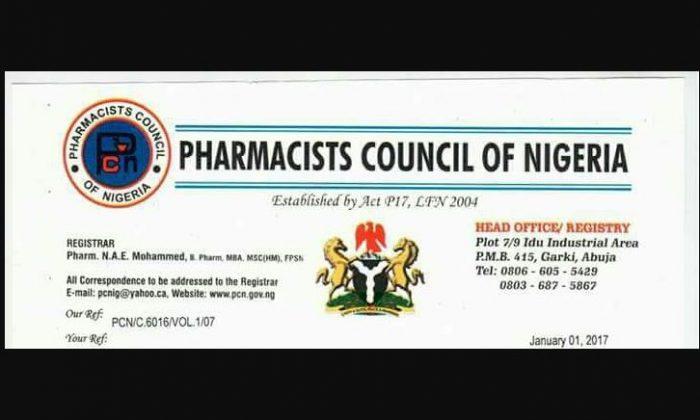 PCON 700x420 - 395 Pharmacy Stores In Kaduna Sealed Up