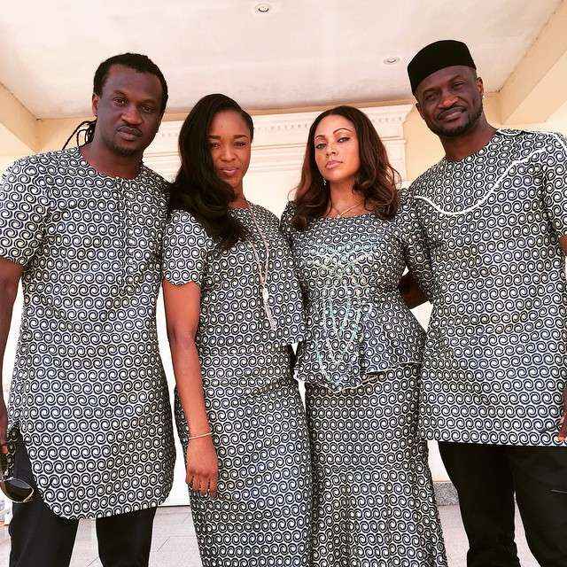 Peter Okoye Paul Okoye P Square Anita Isala Lola Omotayo - Read What Paul Okoye's Wife, Anita Said About Peter's Wife Lola In A 2015 Interview (Photo)