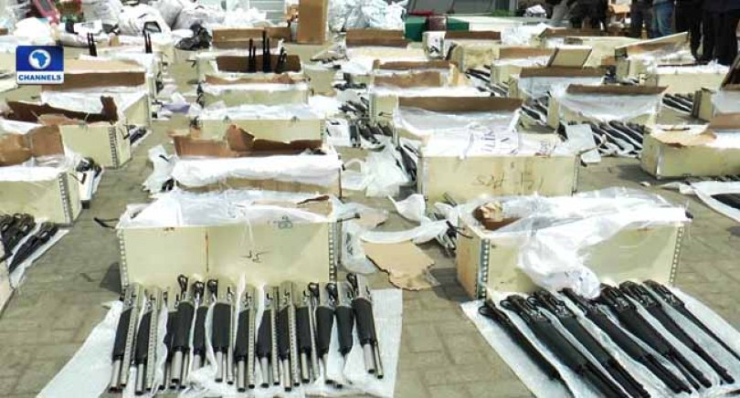 Pump action - Turkey To Investigate Illegal Arms Import Into Nigeria