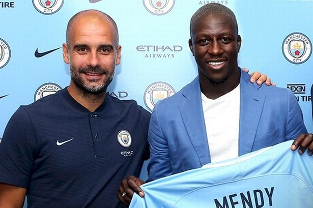 mendy - Premier League!! Manchester City Expensive Defender Benjamin Mendy Suffers Horrible Injury, Could Be Out For 3 Months