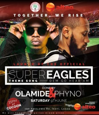 "Olamide and Phyno's release World cup Theme song ""Dem go hear am"""