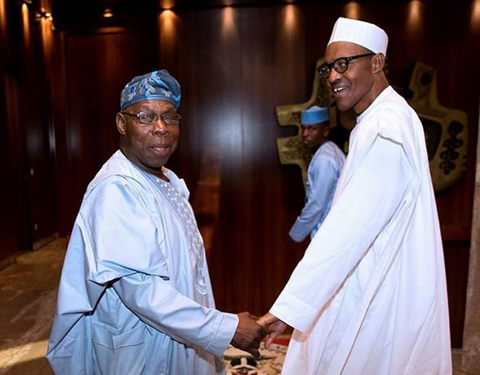 Image result for Obasanjo Knows He Can't Stop Buhari From Winning In 2019 - Tony Momoh