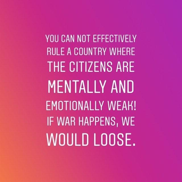 'Nigerians Are Mentally And Emotionally Weak' – Lagbaja