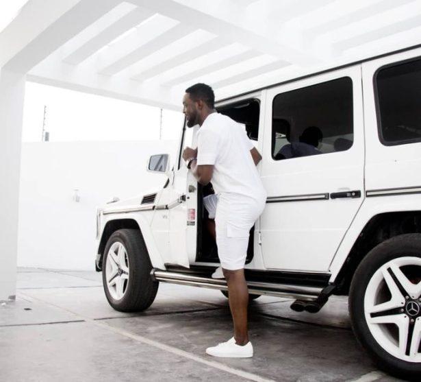 Whip Alert Ay Shows Off His White Mercedes G Wagon Da Gist