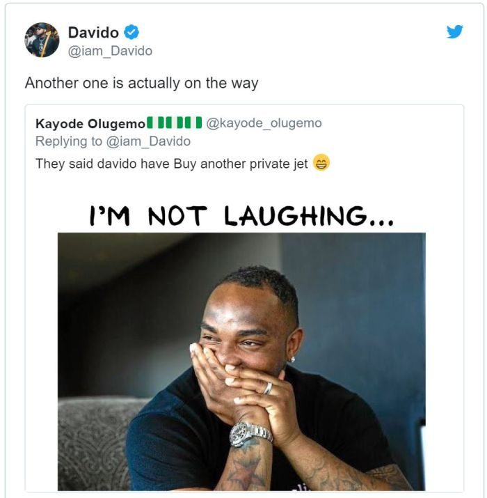 OBO BADDEST!!! Davido Set To Buy Another Private Jet (SEE