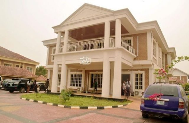 Baba God You Too Get Level! Akpororo Says As He Shares Photo Of His New Mansion