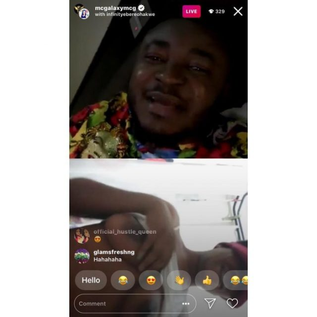 MC Galaxy Ask Ladies To Strip Naked On Instagram Live To Win Prize (See Photo & Video)