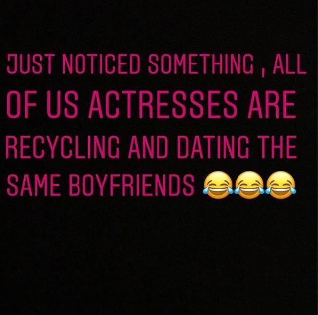 Do You Agree? All Female Celebrities Are Dating The Same Boyfriends – Princess Shyngle