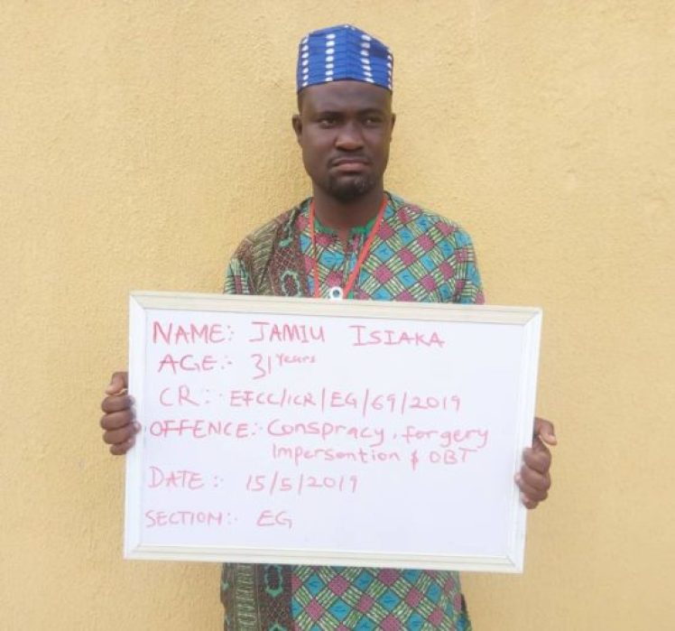 Busted! Herbalist Caught Impersonating The MD Of NNPC And Femi Adeshina