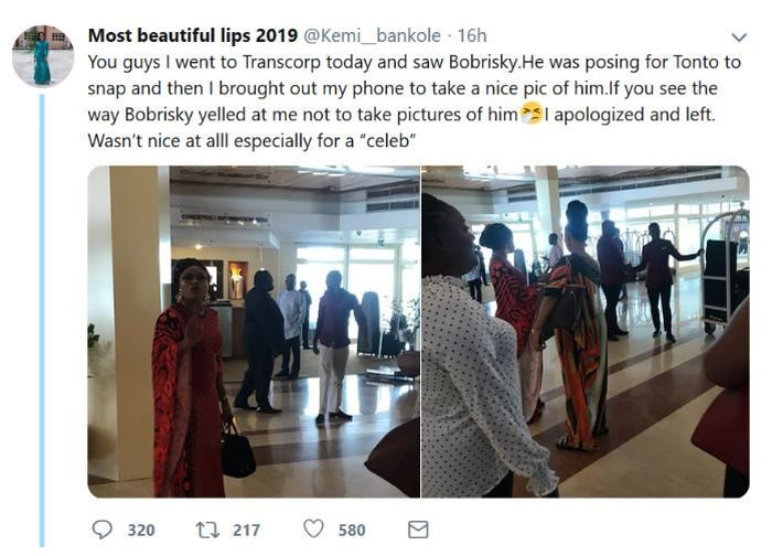 Bobrisky Is Not Nice At All – Twitter Lady Claims (See Her Shocking Reasons)