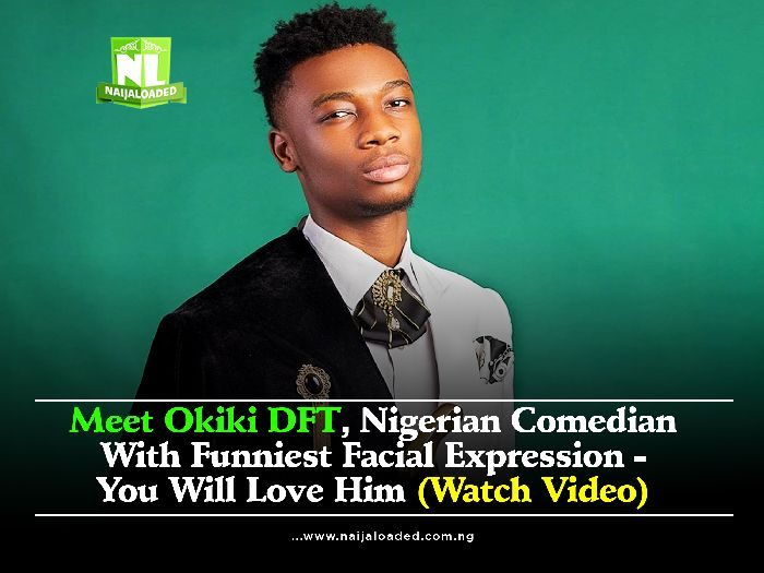 Meet Okiki DFT, Nigerian Comedian With Funniest Facial Expression – You Will Love Him (Watch Video)