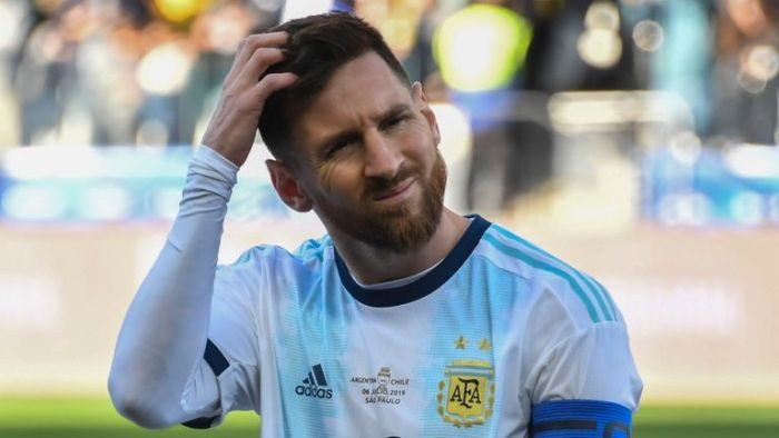 BREAKING!! Lionel Messi BANNED & Fined After Copa America Red Card
