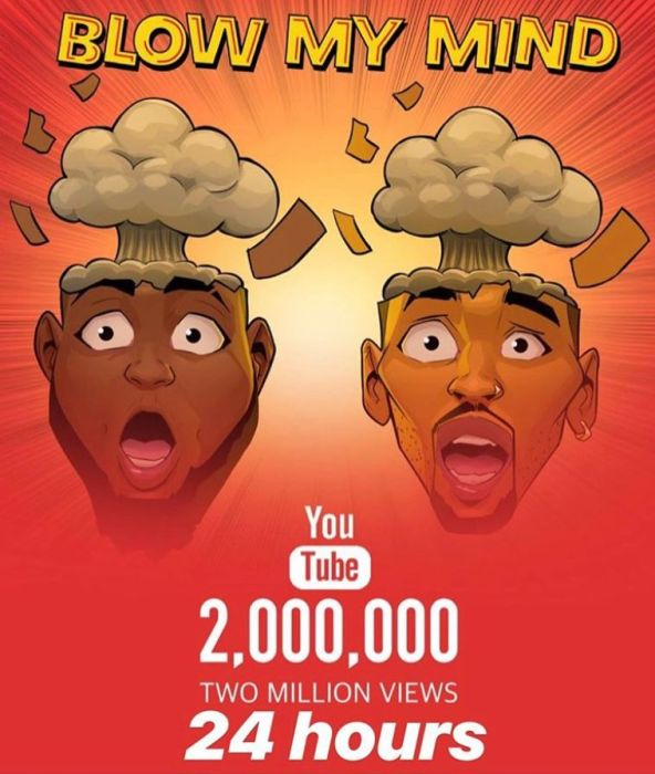 BADDEST!!! Davido Sets Another YouTube Record With New Single, 'Blow My Mind'