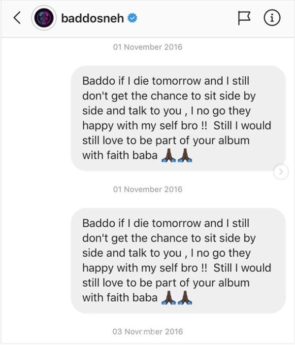 HUSTLE OOO!!! Zlatan Shows Messages He Sent To Olamide Before He Became A Superstar