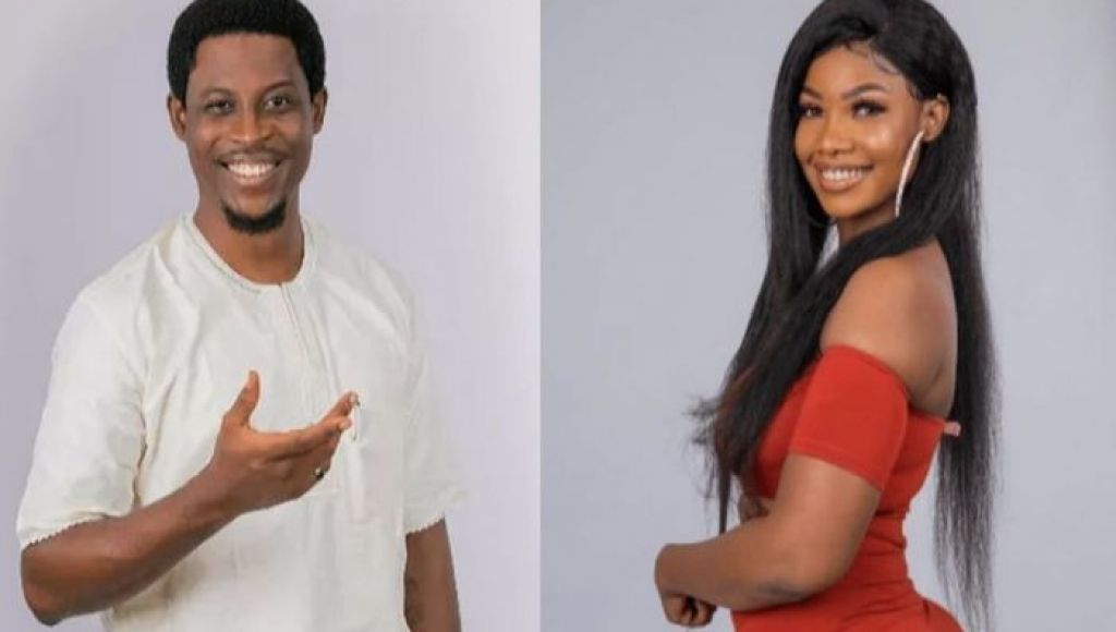 """What Is Seyi?"" - BBNaija Star, Tacha Asks Omashola On Insta Live"