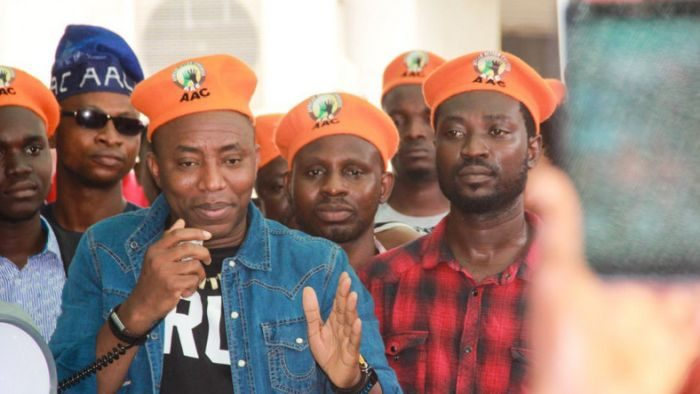 Sowore's Party AAC Expels Sowore And 28 Others