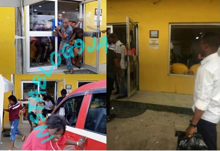 Xenophobia!! As Nigerians Stormed Shoprite In Jakande; MTN Office In Uyo 1