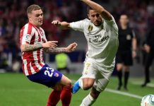 Real Top La Liga After Derby Draw At Atletico