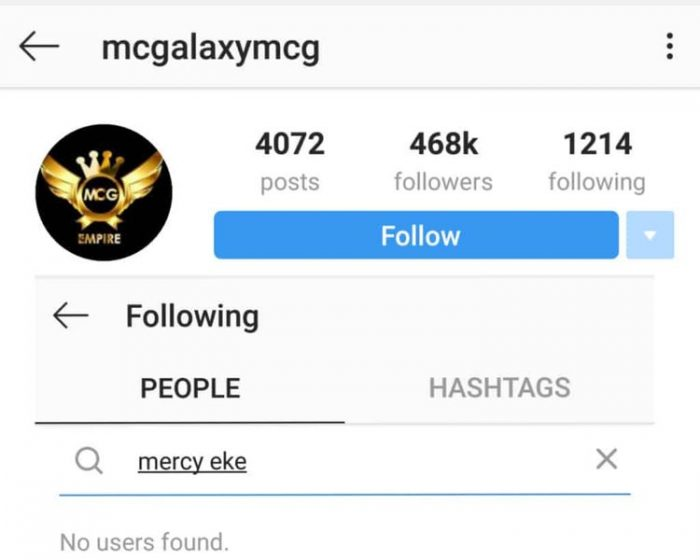 MC Galaxy Unfollows Mercy After She Gets Herself A New Management 3