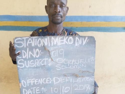 WICKED WORLD!!! Man Arrested After His Daughter Reported Him To Her Teacher For Defiling Her 2