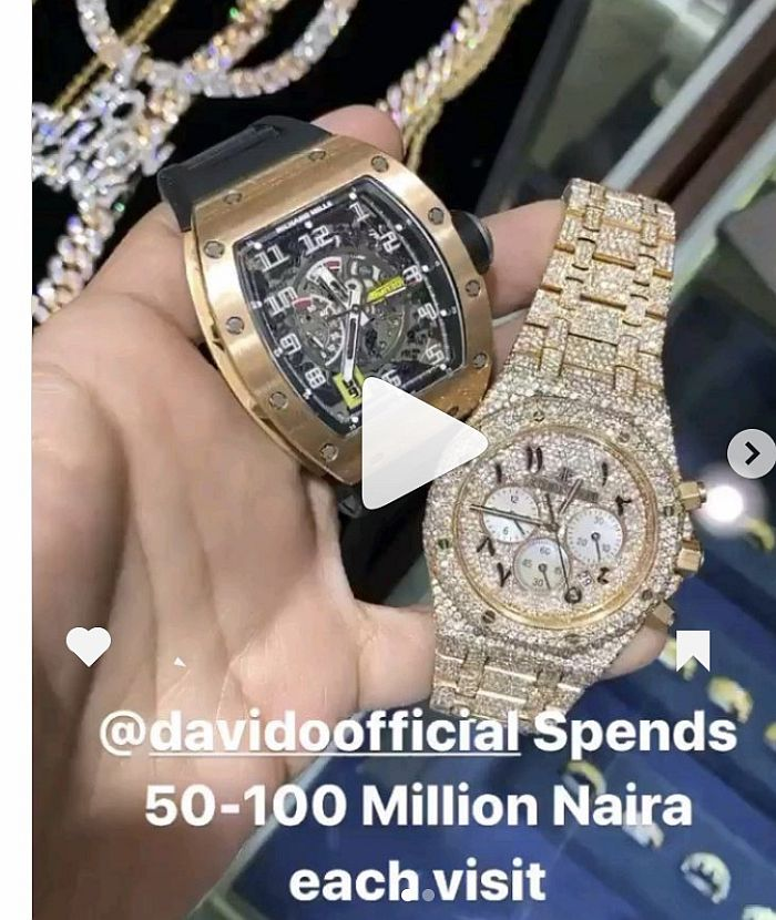 """""""Davido Spends Between 50 To 100 Million Whenever He Visits My Shop"""" – US Jeweller, Icebox Reveals 4"""