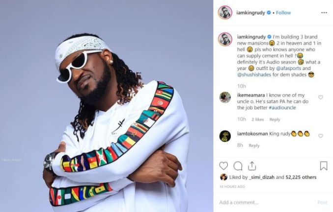 Paul Okoye Says He Is Currently Building 3 Mansions, Reveals Their Locations 1