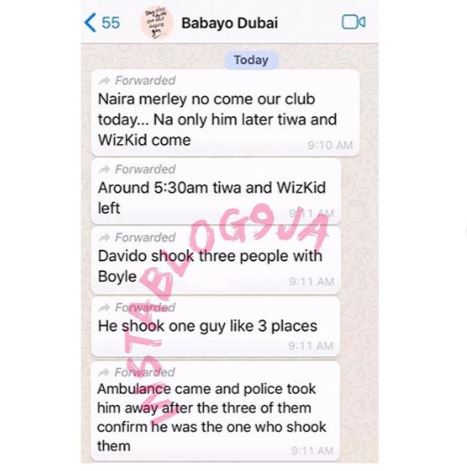 Image result for Davido Arrested In Dubai For Stabbing A Guy (Read Full Details)