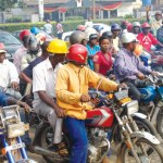 Hoodlums Attack, dispossess Motorcyclists of their bikes In Lagos state.
