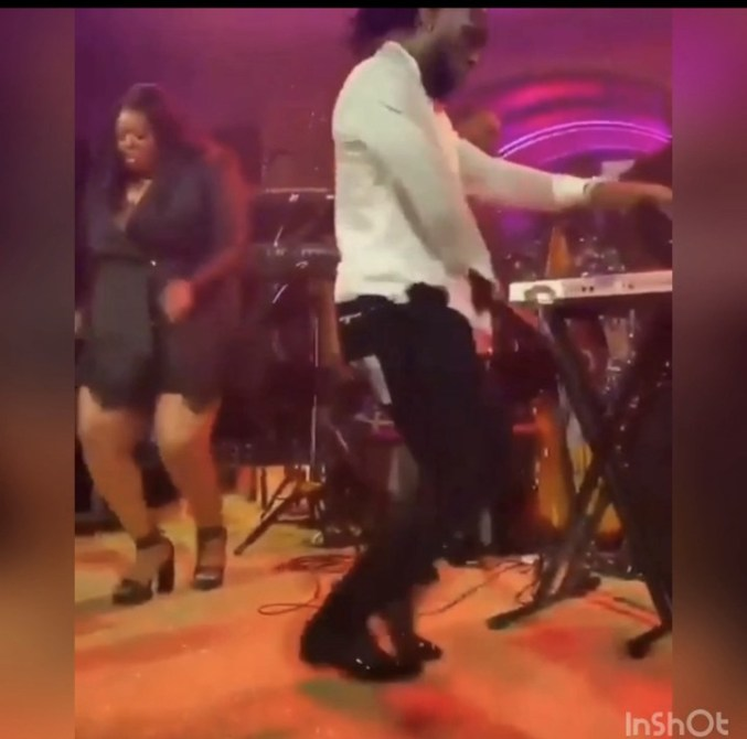 Burna Boy Performs At The Grammys Reception Ahead Of Ceremony (Photos) 2