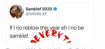 Samklef Vows To Reblow This Year 1