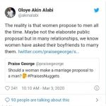 Women Propose To Men All The Time – Akin Alabi