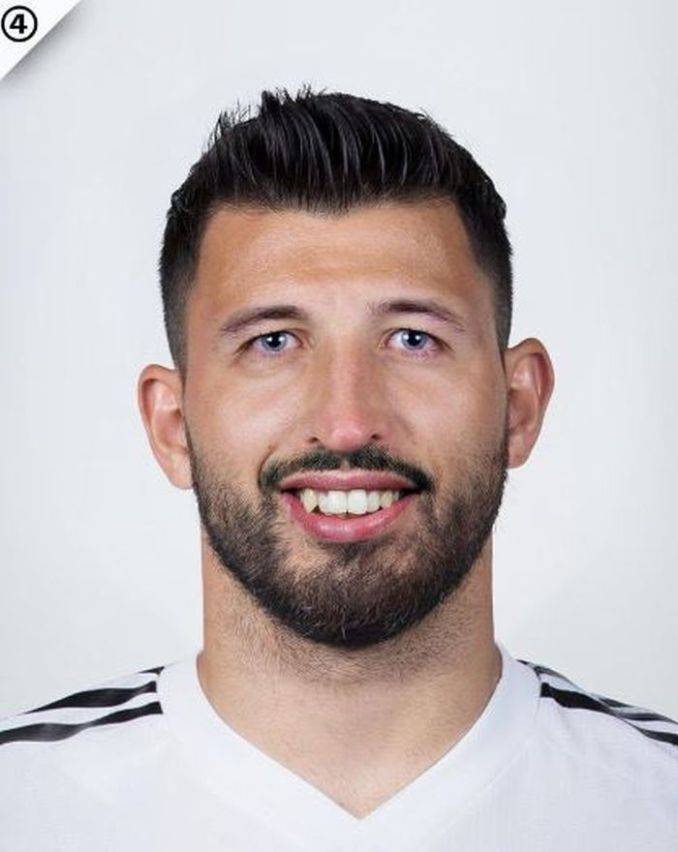 THIS IS TRENDING! Can You Tell Us The 3 Footballers Combined In This Photo? 1