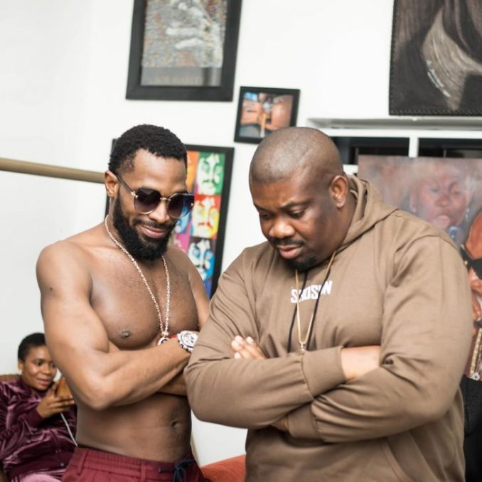 """""""Your Daddies"""" – Don Jazzy Shares Lovely Photo With Dbanj 1"""