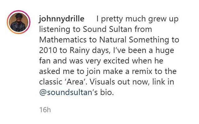 """""""I Have Always Been A Fan Of Sound Sultan"""" – Johnny Drille 1"""