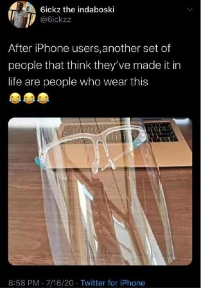 After iPhone Users, People That Wear This Are Another Set Of People That Think They've Made It In Life (PHOTO) 1