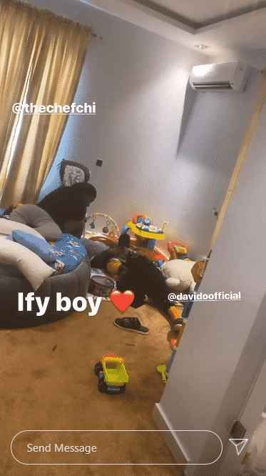 WHAT BREAKUP!? Davido & Chioma Pictured Together While Chilling With Their Son, Ifeanyi (See Photo) 1