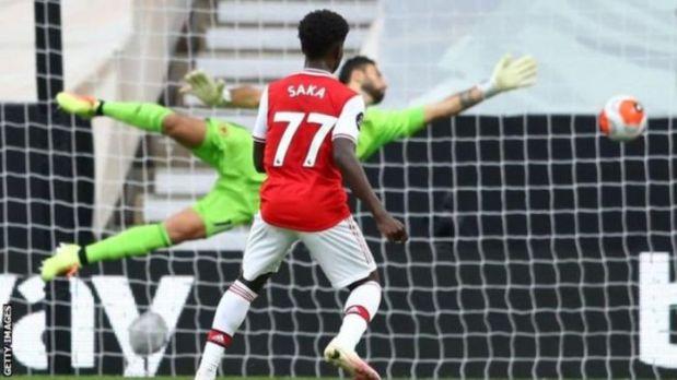 Wolves 0 – 2 Arsenal Goal Highlight