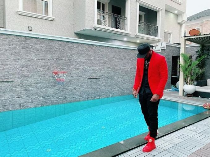 TOO MUCH MONEY!! See Stunning Photos Showing Inside Of Peter Okoye's $3.8 Million Banana Island Mansion 4