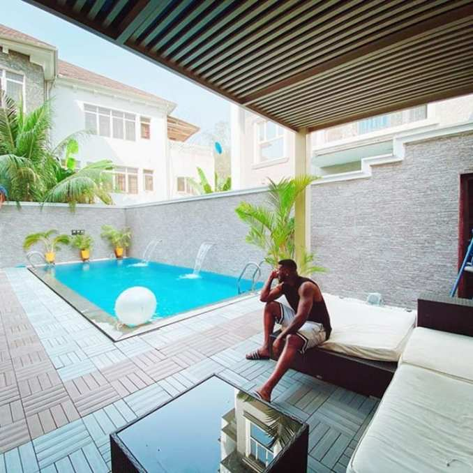 TOO MUCH MONEY!! See Stunning Photos Showing Inside Of Peter Okoye's $3.8 Million Banana Island Mansion 5