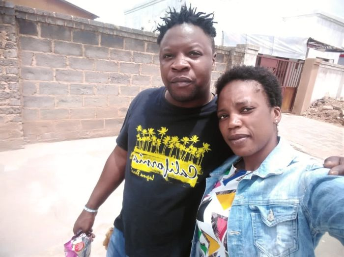 Man Catches His Wife Sleeping With Another Man; Takes A Selfie With Them (See Photos)