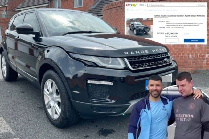 UNBELIEVABLE!! LUCKY Man City Staff Who Won Aguero's Car Puts It FOR SALE (See Why)