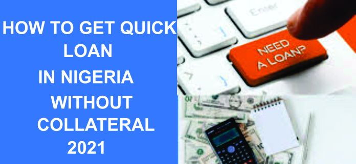 instant loan without collateral