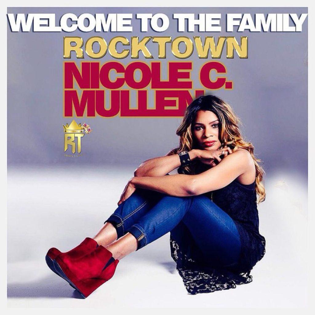 Nicole-Mullen Frank Edwards Signs Singer Nicole Mullen To ROCKTOWN