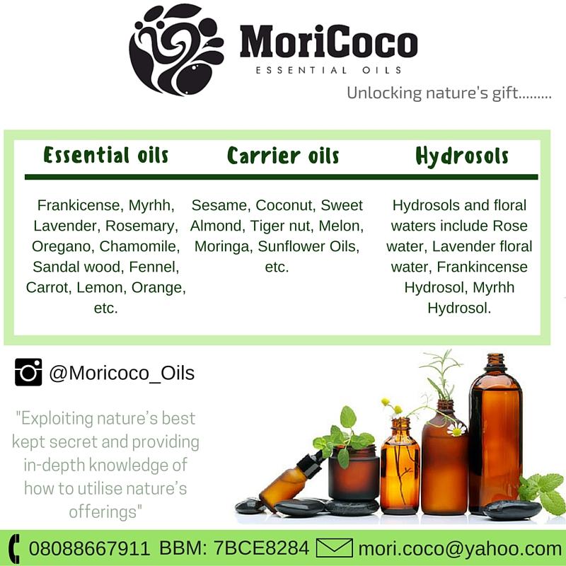 MORI COCO ESSENTIAL OILS! – NAIJA NATURALS