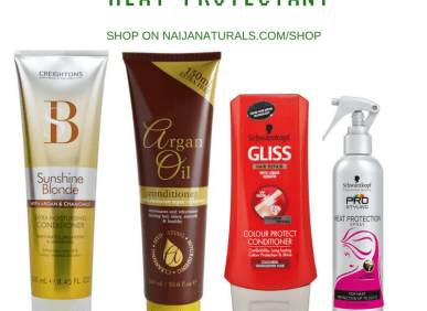 SHAMPOOS, CONDITIONERS & HEAT PROTECTANTS