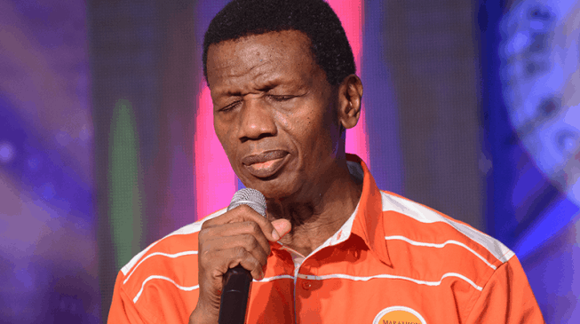 Again Pastor Adeboye Declares 30-Day Fast And Prayer For Nigeria